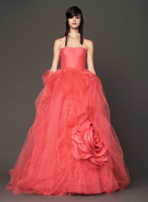 Vera wang latest bridal gown dress noor fashion house 360 for Vera wang style wedding dress