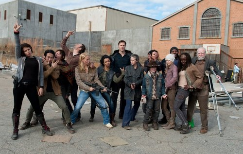 The Walking Dead S03E16. Welcome to the Tombs TWD cast