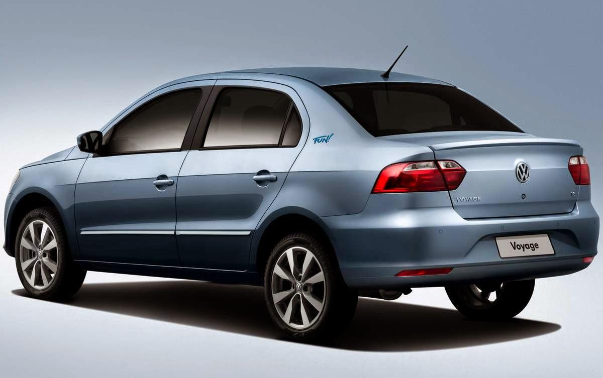 Novo VW Voyage 2015 Comfortline