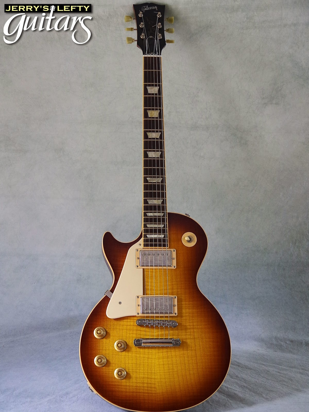 2008 Gibson Les Paul Standard left handed guitar 5 15 14
