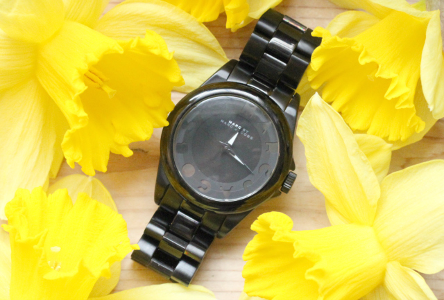 Black Marc by Marc Jacobs watch