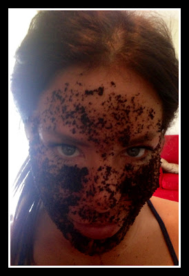 Homemade Coffee Mask by Diana Laura
