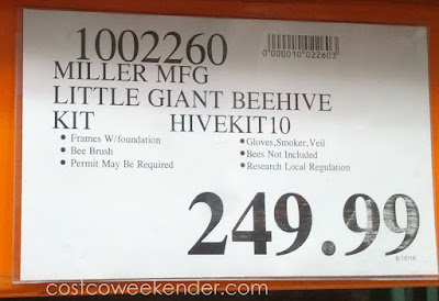 Deal for the Miller Manufacturing Little Giant Hive10kit Beginner Hive Kit at Costco