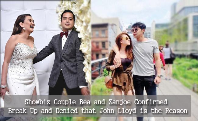 Showbiz Couple Bea and Zanjoe Confirmed Break Up and Denied that John Lloyd is the Reason