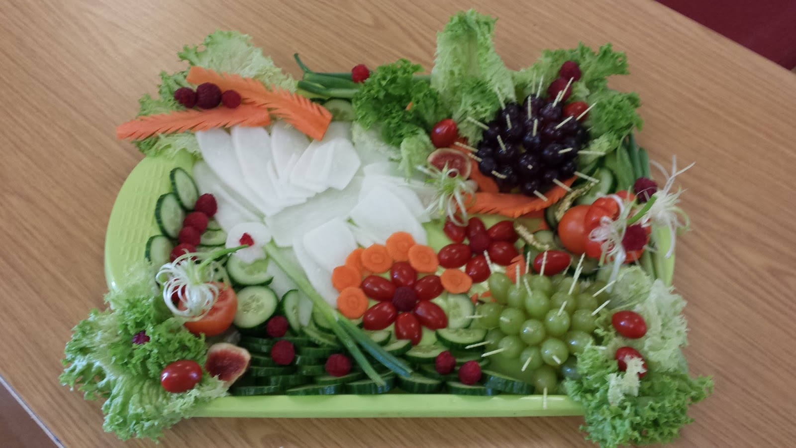 Salad competition images for Decoration salade