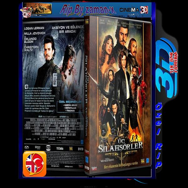 3 SiLAHşöRLER | 3D | 2011 | 1080p | AC3 DUAL 5.1 AUDiO | TR/ENG  1.9 GB
