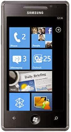 Samsung Omnia 7 I8700 Windows
