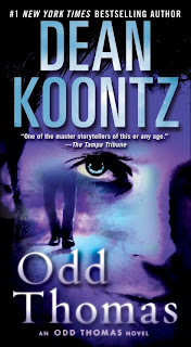 Odd Thomas mass market paperback cover, Dean Koontz