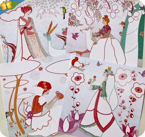 Frottage : Les jolies robes de Louna par Djeco