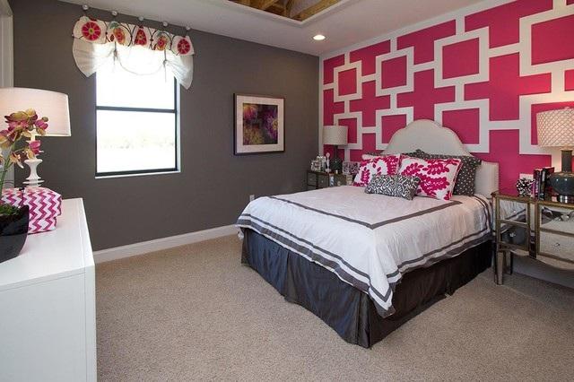 Dormitorios juveniles de color fucsia - Pintar habitaciones juveniles ...