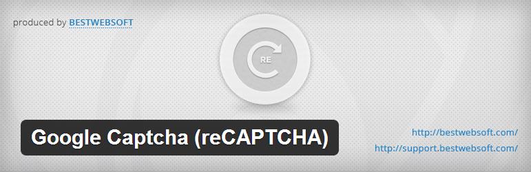 Google Captcha (reCAPTCHA)
