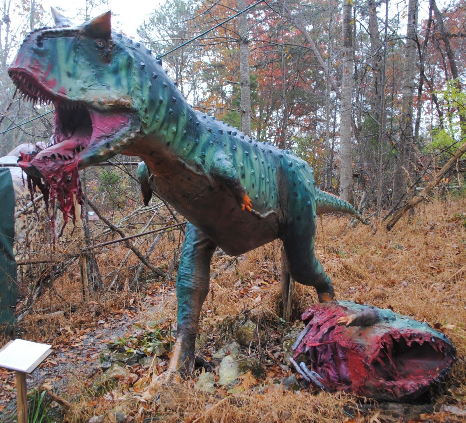 The Carpetbagger Back Yard Terror 39 S Dinosaur Park