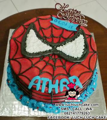 Kue Tart Spiderman Kepala Daerah Surabaya - Sidoarjo
