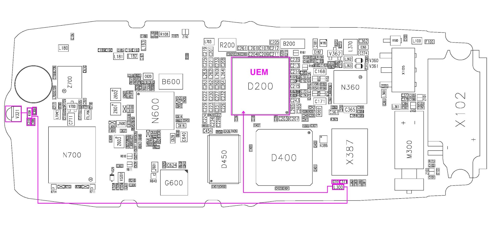 Circuit Diagram Nokia 1100 Schematic Diagrams Of X202 Custom Wiring U2022 1616