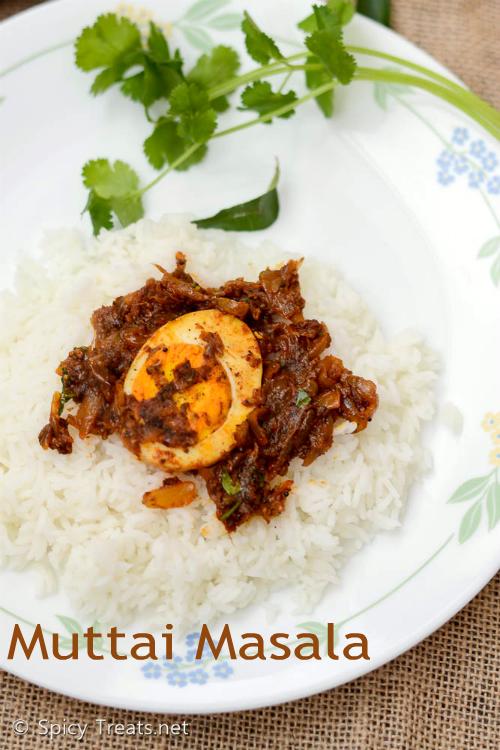 Muttai(Egg) Masala