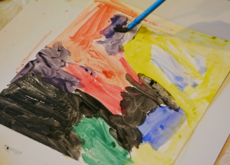 watercolor background for jazz art