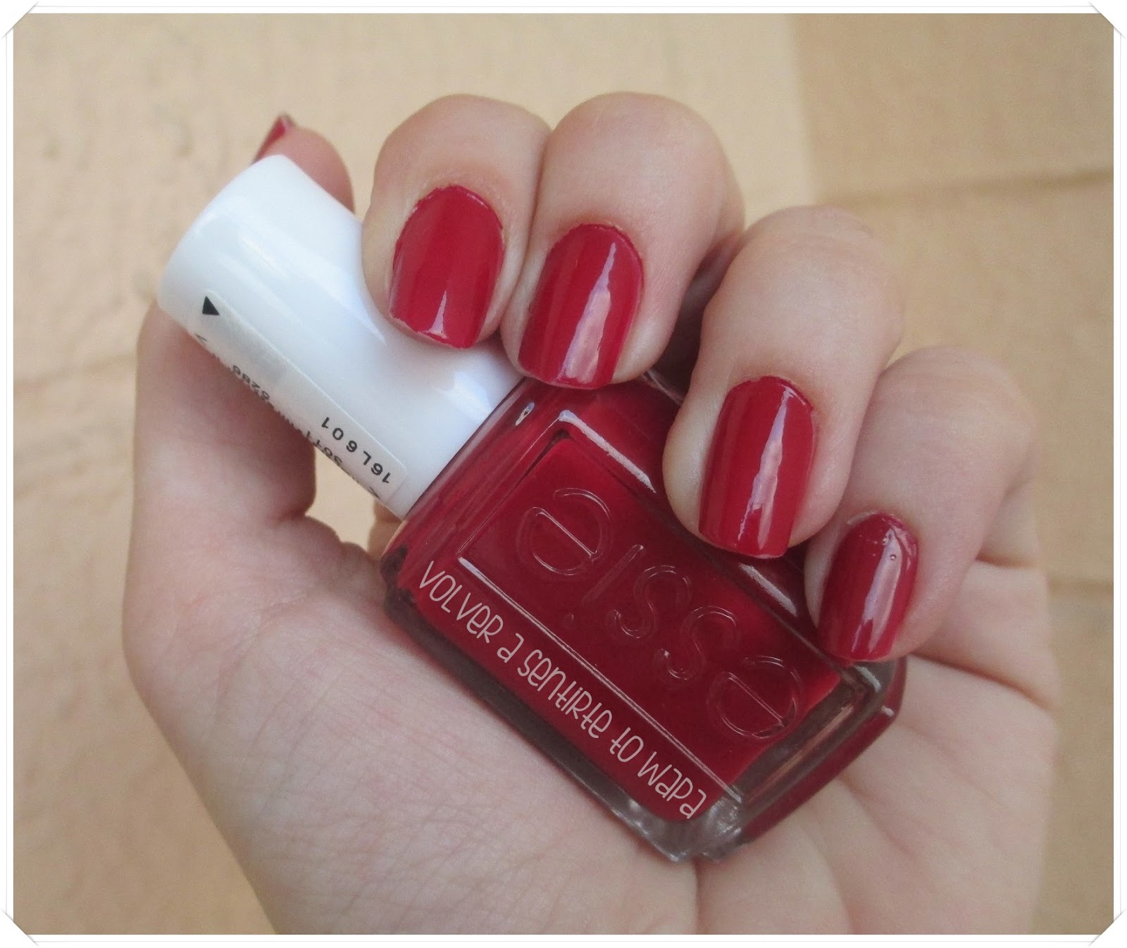 ESSIE Nails - otoño 2014 - Dress to Kilt