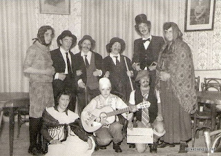 Carnavales de Candelario Salamanca años 70