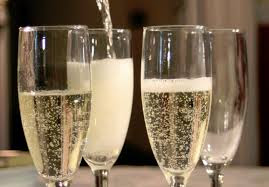 Glasses of bubbly for Prosecco Pop Up
