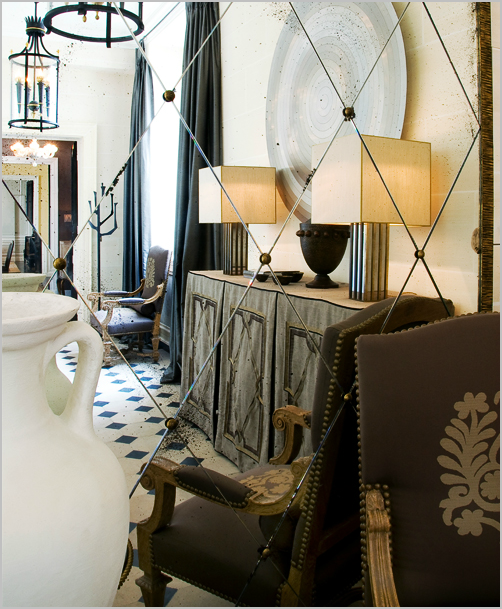 Color Outside the Lines: The Foyer : Mirrors