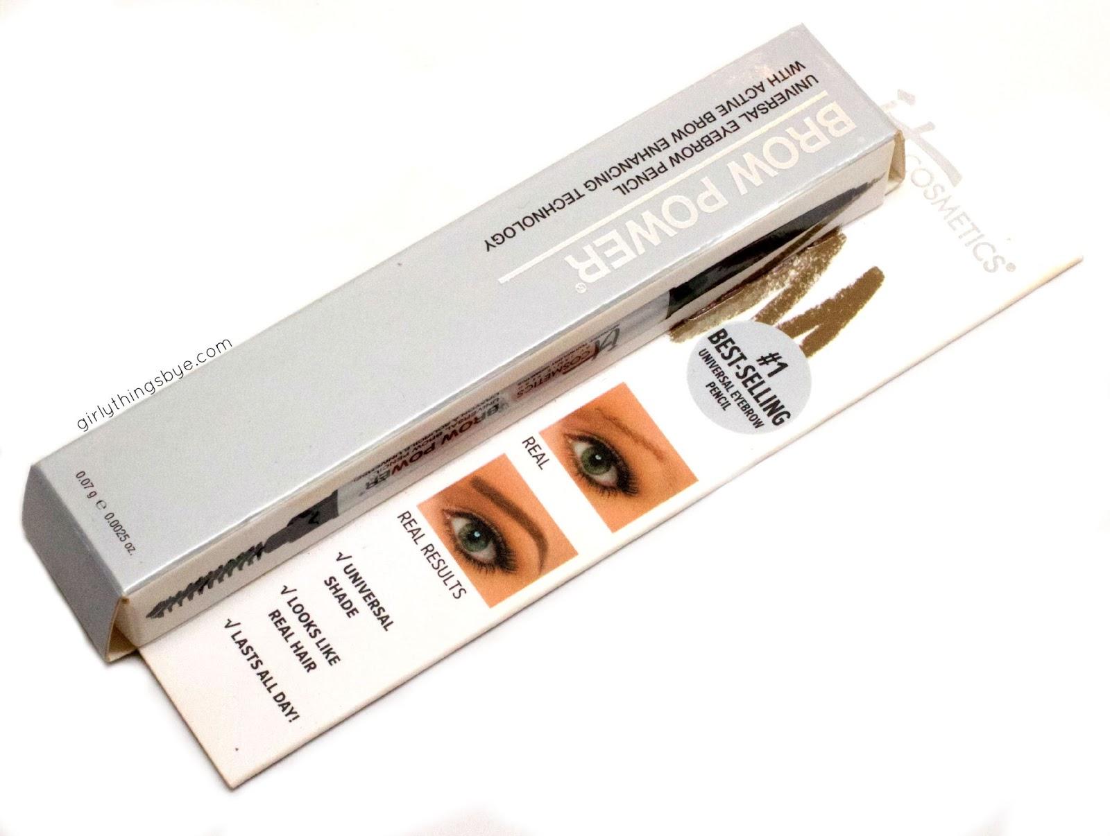 Review Demo It Cosmetics Brow Power Universal Eyebrow Pencil