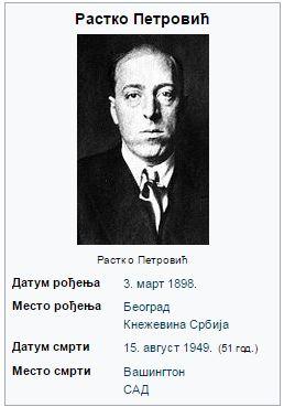 РАСТКО ПЕТРОВИЋ