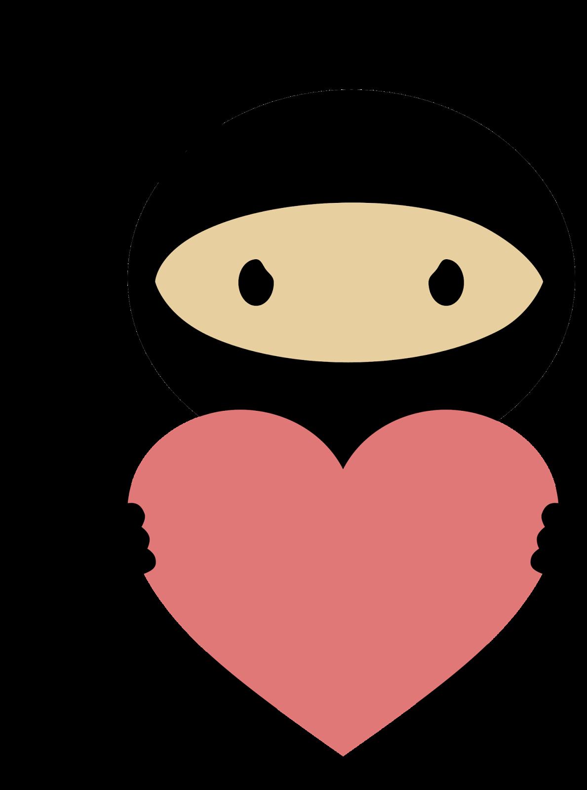 Ninja In Love Clipart Oh My Fiesta For Geeks