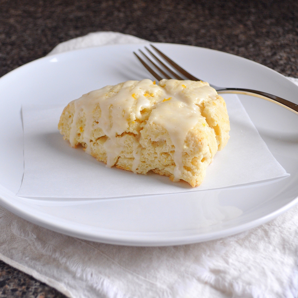BREANNA'S RECIPE BOX: Meyer Lemon and Ginger Scones