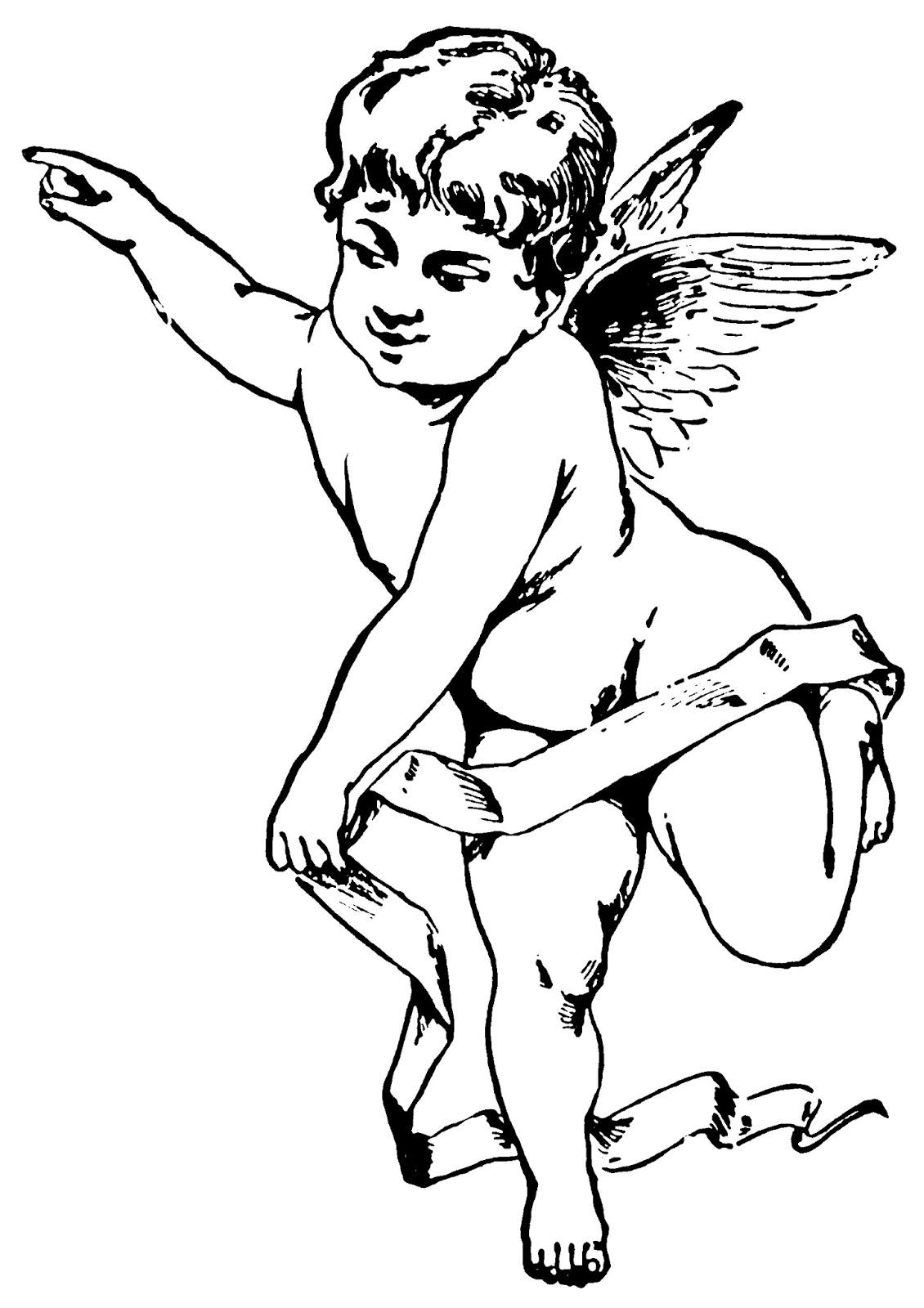 free vintage clip art images valentine u0027s day cherubs free