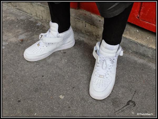 Michel Style de la semaine weat bi-matière cuir Adyn UK pantalon-legging homme Barbara Gongini, short homme Rick Owens baskets Nike