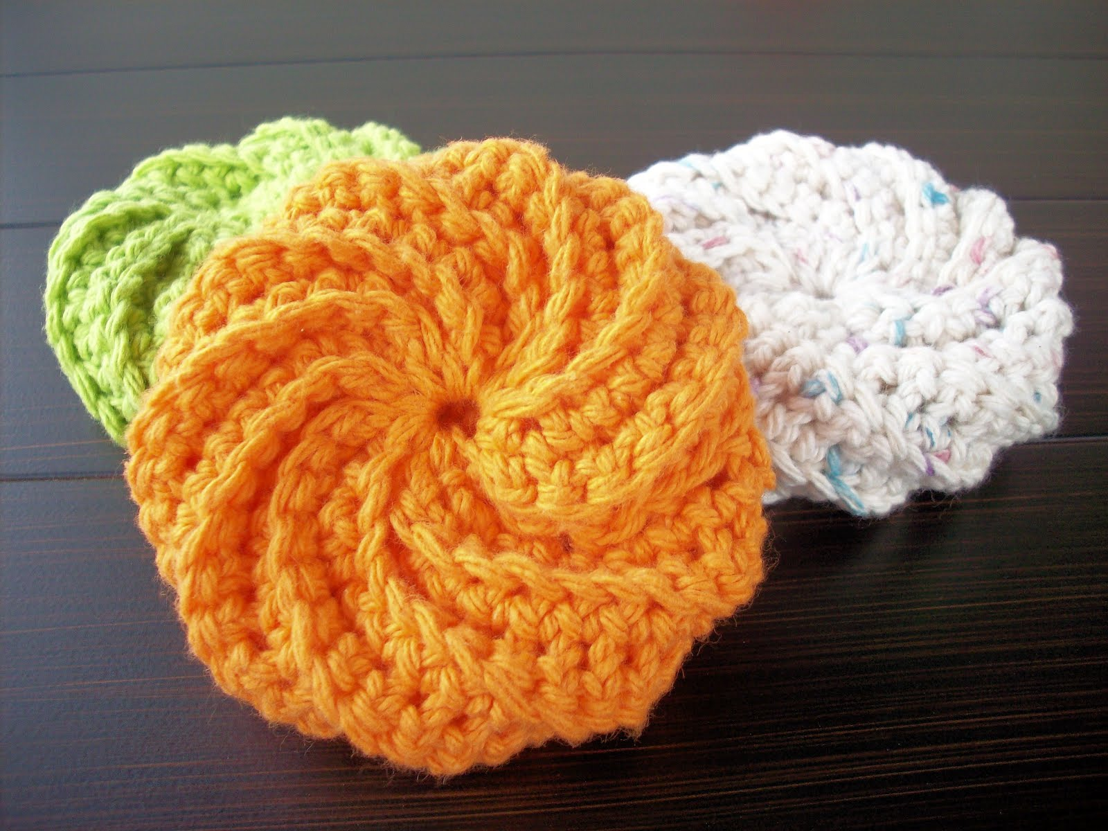 Crocheting Scrubbies With Netting : How+To+Crochet+Scrubbies Crochet Scrubbies