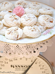 Baking Day: Lemon Almond Meringues