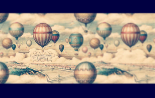 Hot air balloons over Budapest, Bomo Art