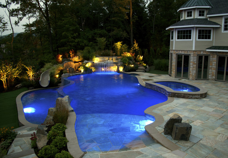 Best Pools For Backyard : Pool Remodeling Accentuate The Fun Effect With Backyard Pools