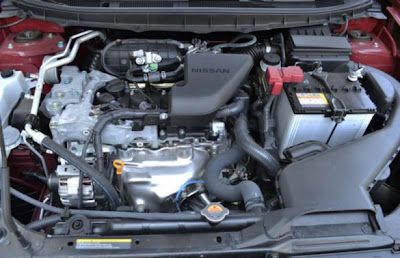 Car-Review-Nissan-Rogue-SL-2011-engine