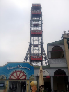 The Wiener Riesenrad in Vienna's Prater amusement park