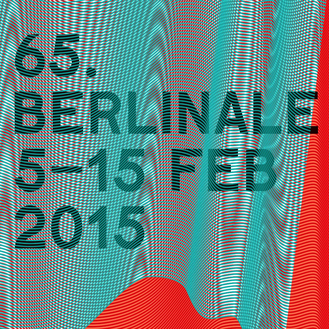 Berlinale 2015 - Offizielles Poster