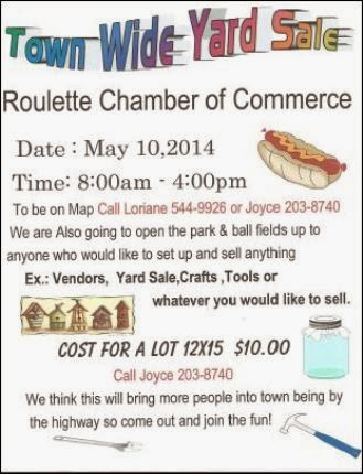 5-10 Town Wide Yard Sale Roulette