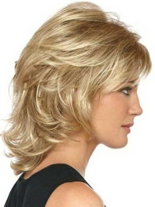 10 Medium Short Hair Cuts For Women ~ Best Haircuts