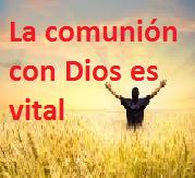 LA COMUNIÓN CON DIOS