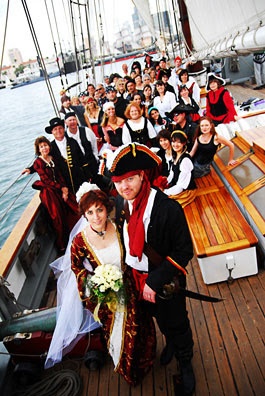 Marry2Love Pirates Theme Wedding