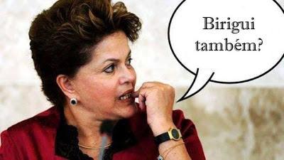 Dilma Rousseff em Birigui - Um Asno