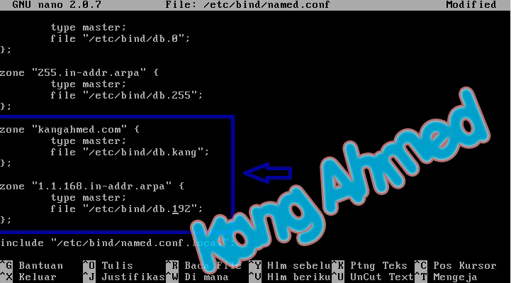 Tutorial konfigurasi DNS Server Debian 5 - Blog Kang Ahmed