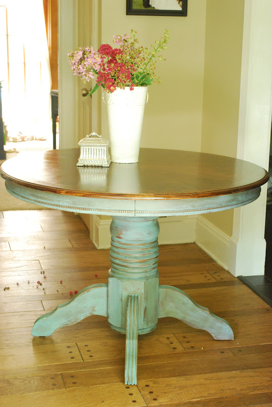 Beau Check Out The Beautiful Refinished Top In Dark Walnut. The Pattern Is So  Lovely.
