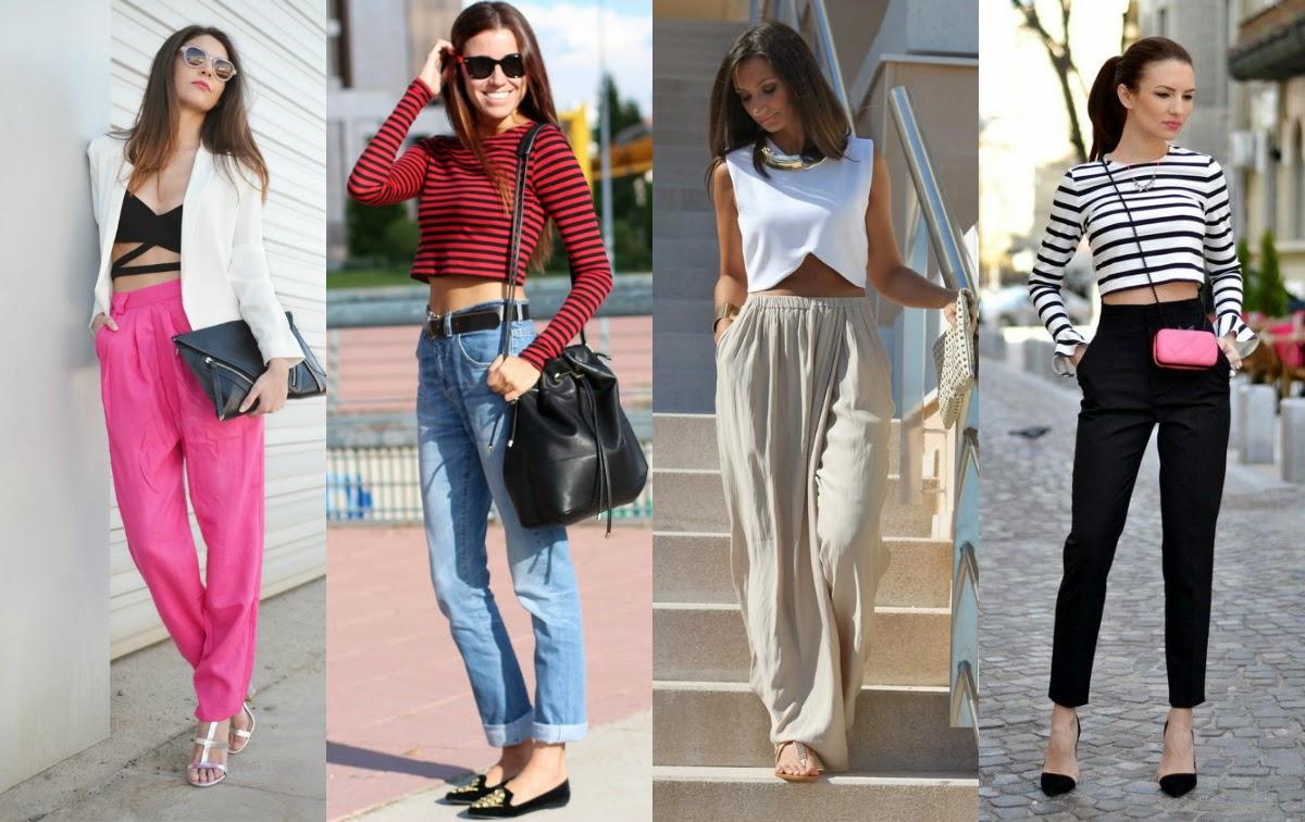 So style blog Cu00f3mo usar pantalones a la cintura