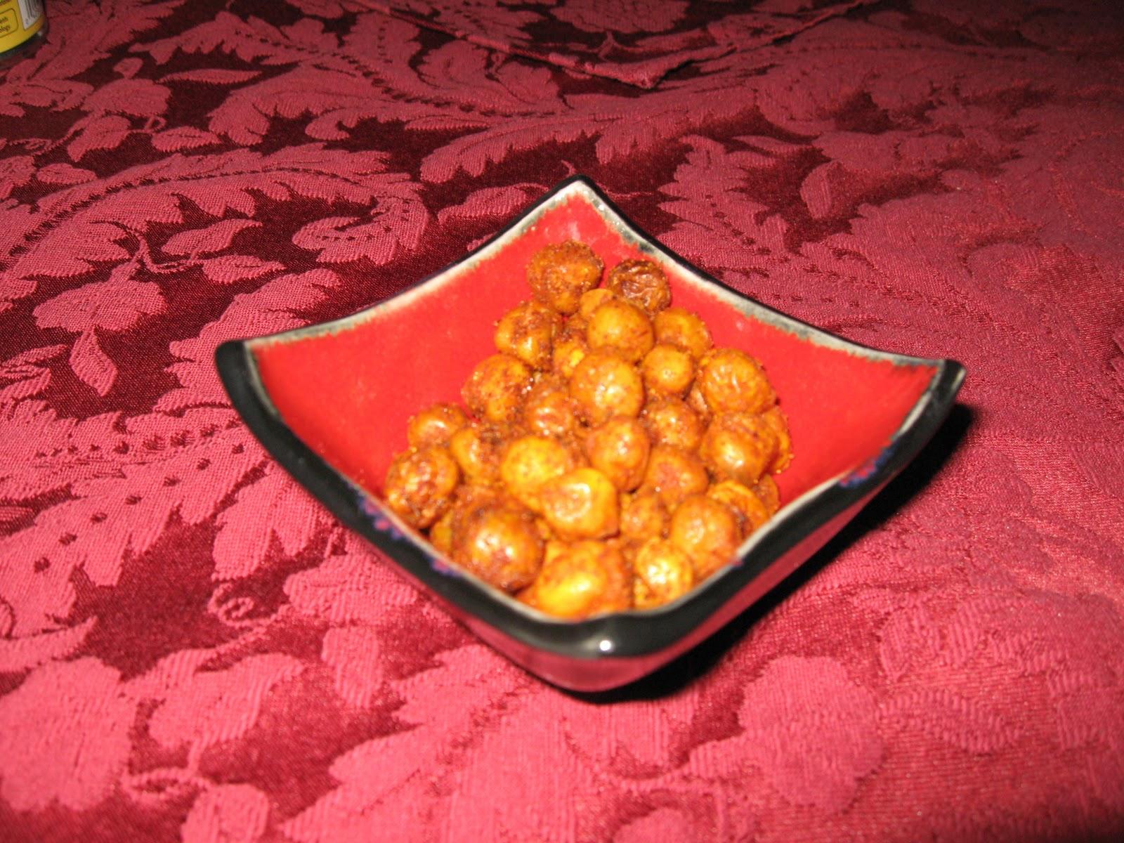 ... Culinary Amnesia: A Trio of: Party Snacks. Oven-Fried Cajun Chickpeas
