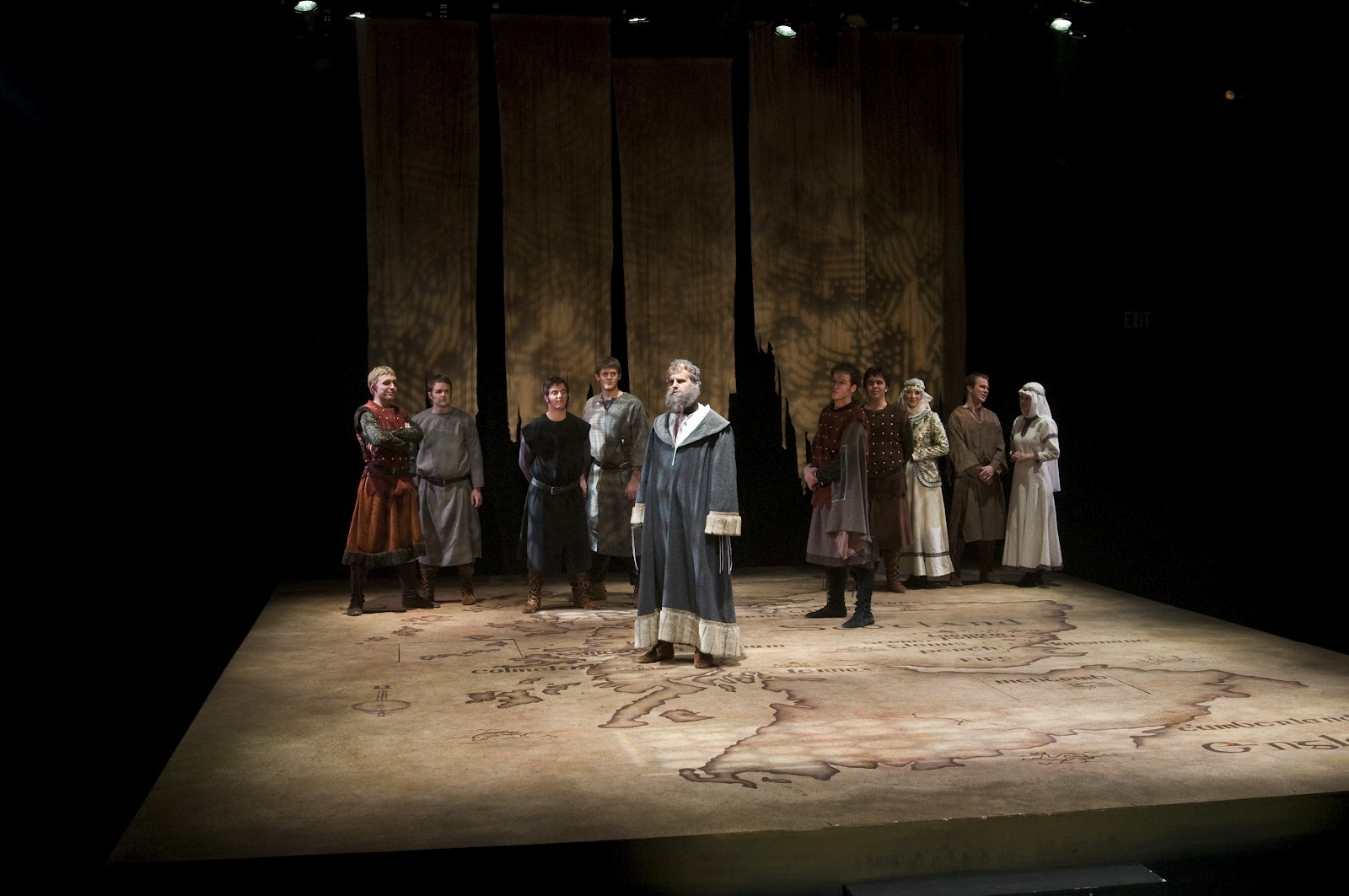 The Theatrical Designs of Gary Benson: Macbeth--Scene Design