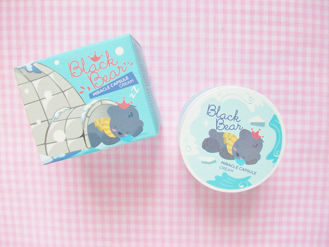 Shara Shara Black Bear Miracle Capsule Cream