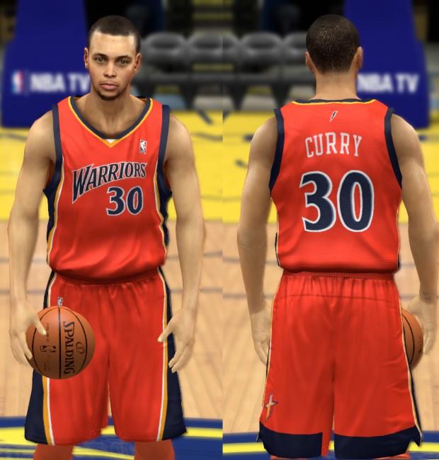 Warriors Orange Alternate Jersey