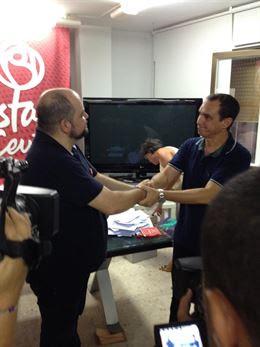 Manuel Hernández, nuevo secretario general del PSOE de Ceuta